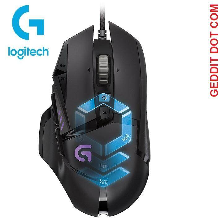 Logitech G502 Proteus Spectrum RGB Tunable Gaming Mouse Malaysia