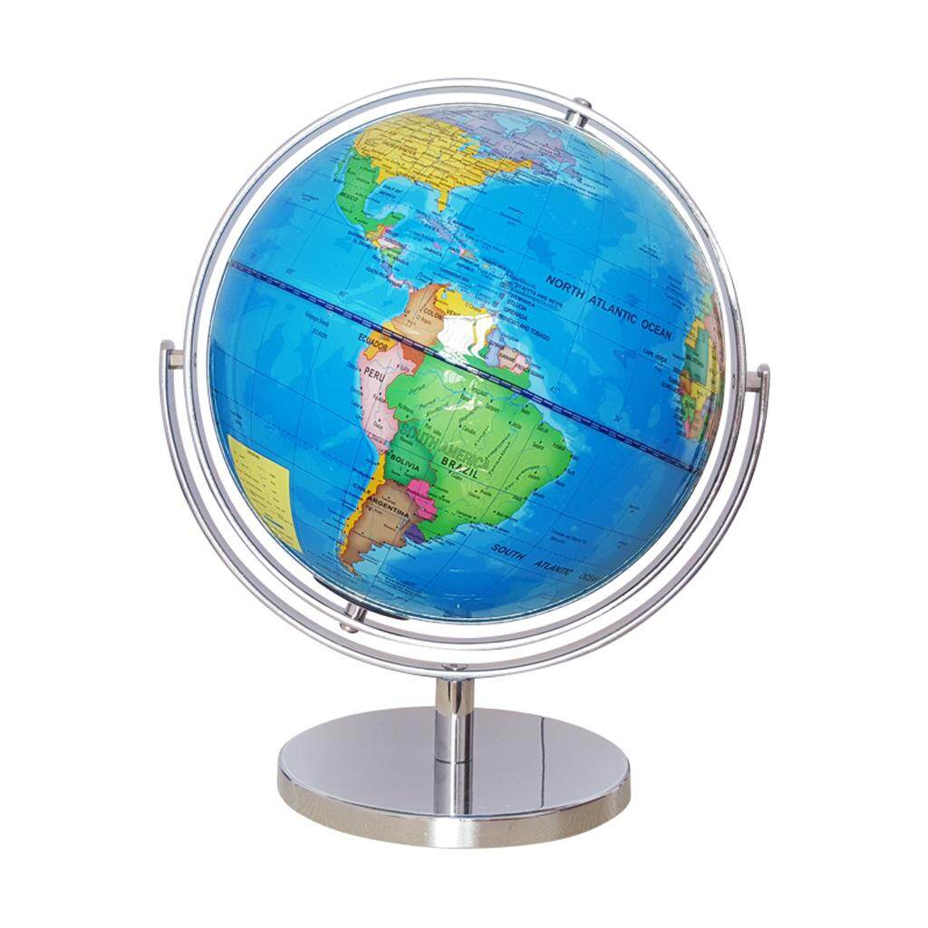 Geography buy geography at best price in malaysia lazada magideal 25cm abs geographical 720 degree rotating world map globe desktop decor blue gumiabroncs Choice Image