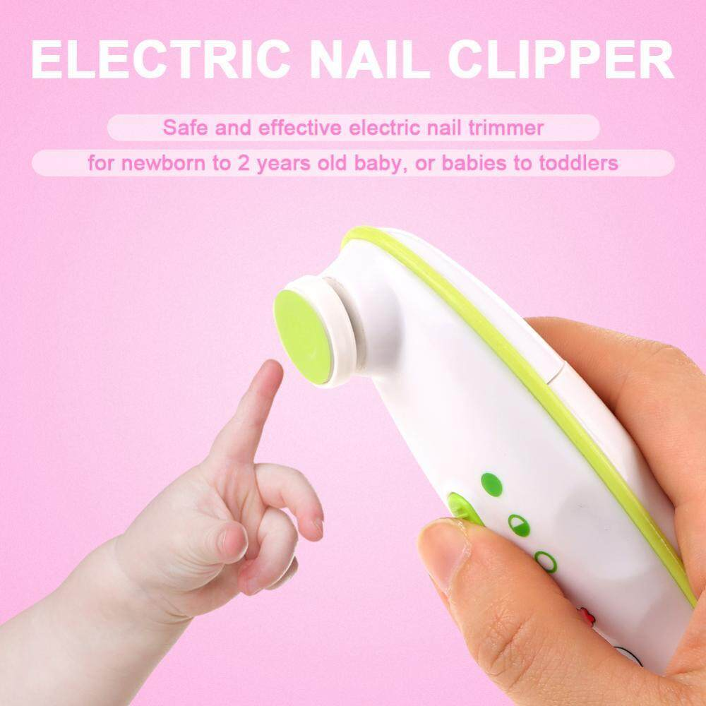 Newborn Baby Toddler Kids Electric Nail Trimmer For Safe And Effective Clipper Manicure Tool By Sweetbaby123.