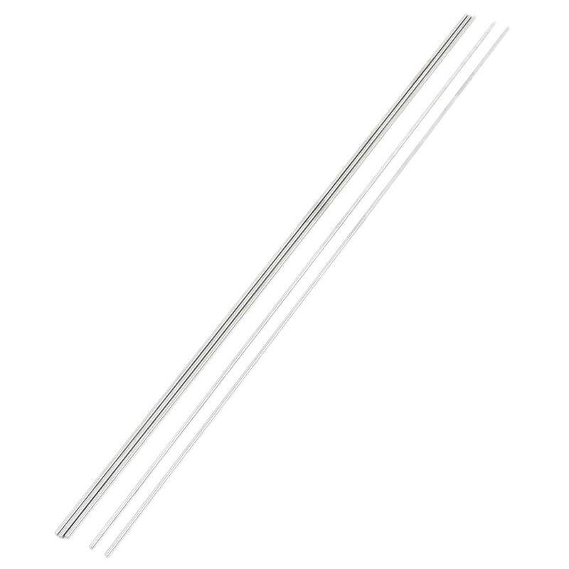 5 Pcs DIY RC Model Stainless Steel Circular Round Rod Bar 500mm x 3mm