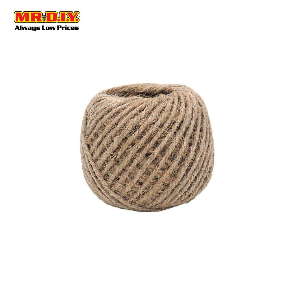 MR.DIY Multi-Purpose Hemp Rope Ball (50gm)