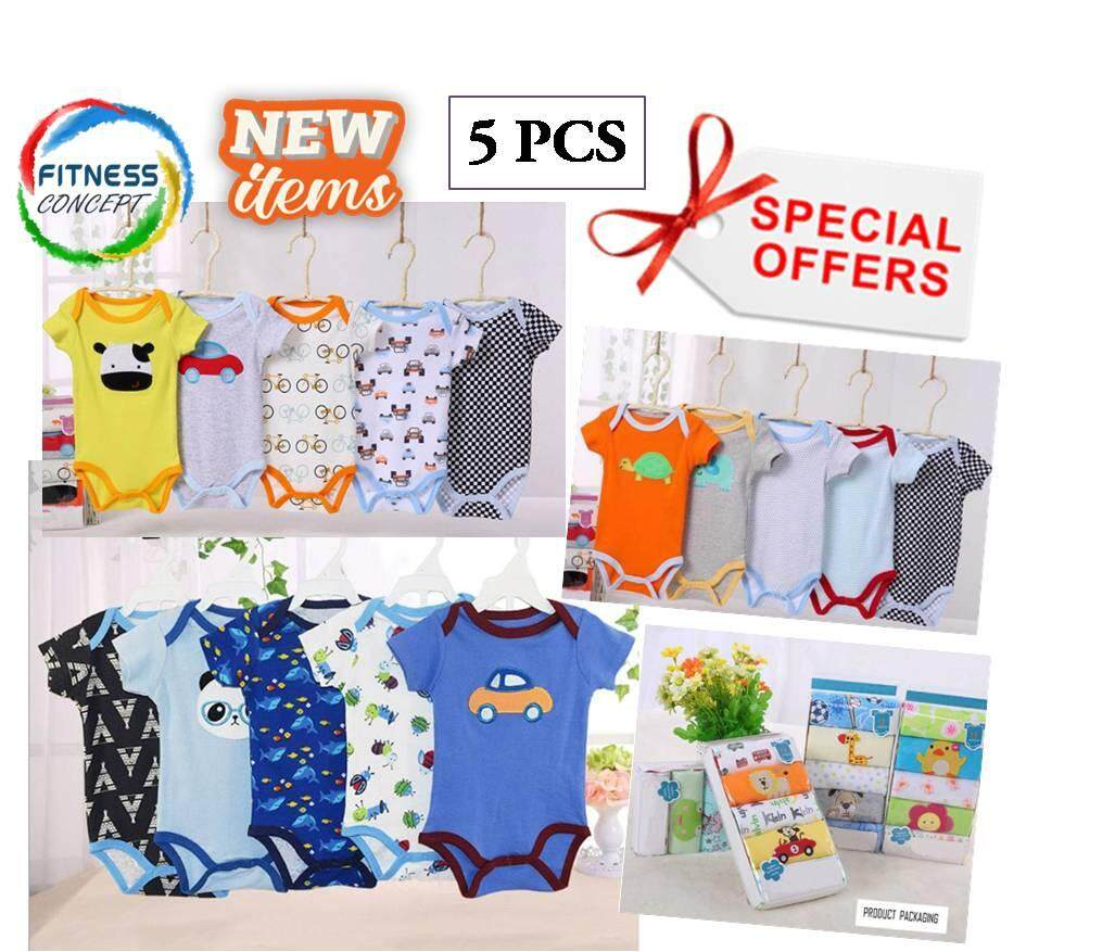 Carters Buy At Best Price In Malaysia Jumper Carter Love Baby Boy Romper 5pcs Shirt Short Sleeved 100 Cotton Wear Outfit