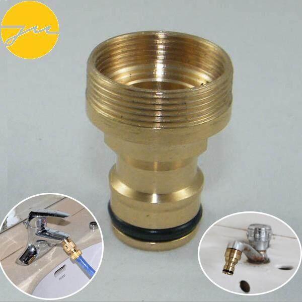 Faucet Tap Solid Brass Adaptor Garden Tube Quick Connector Spray Nozzle