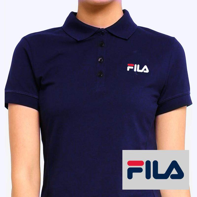 FILA WOMEN POLO T-SHIRT SEXY(Navy Blue) by Vemon 28