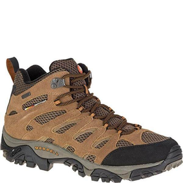 1a1ba3dd81d12 Merrell Mens Moab Mid Waterproof Hiking Boot,Earth, US