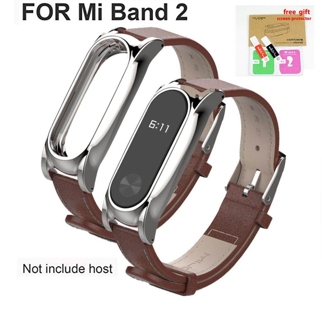 Shop Activity Tracker Straps Buy At Xiaomi Mi Band 2 Oled Strap Stainless Steel Mijobs Black New Edition Best Price In Malaysia