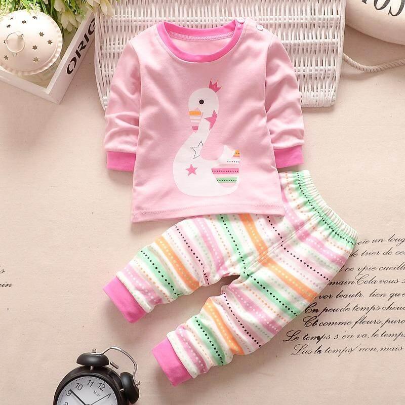 d290c22fce55 Promo Newborn Baby 3 Set Full Printing Pajamas 05 Fit To Akhir Tahun ...