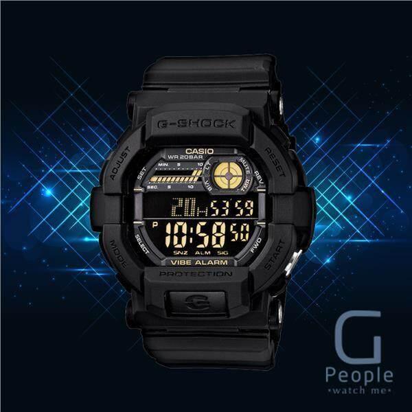 CASIO G-SHOCK GD-350-1BDR / GD-350-1B / GD-350-1 / GD-350 WATCH 100% ORIGINAL Malaysia
