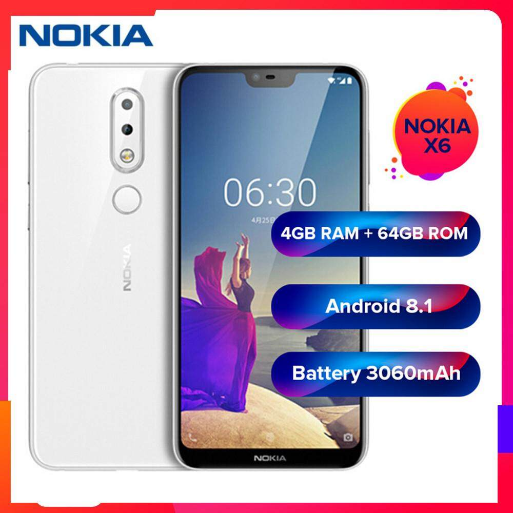 Nokia Mobile Phones At Best Price In Malaysia Lazada 105 Dual Sim Handphone Black Original X6 4g Phablet 58 Inch Smartphone 4gb Ram 32gb 64gb Rom