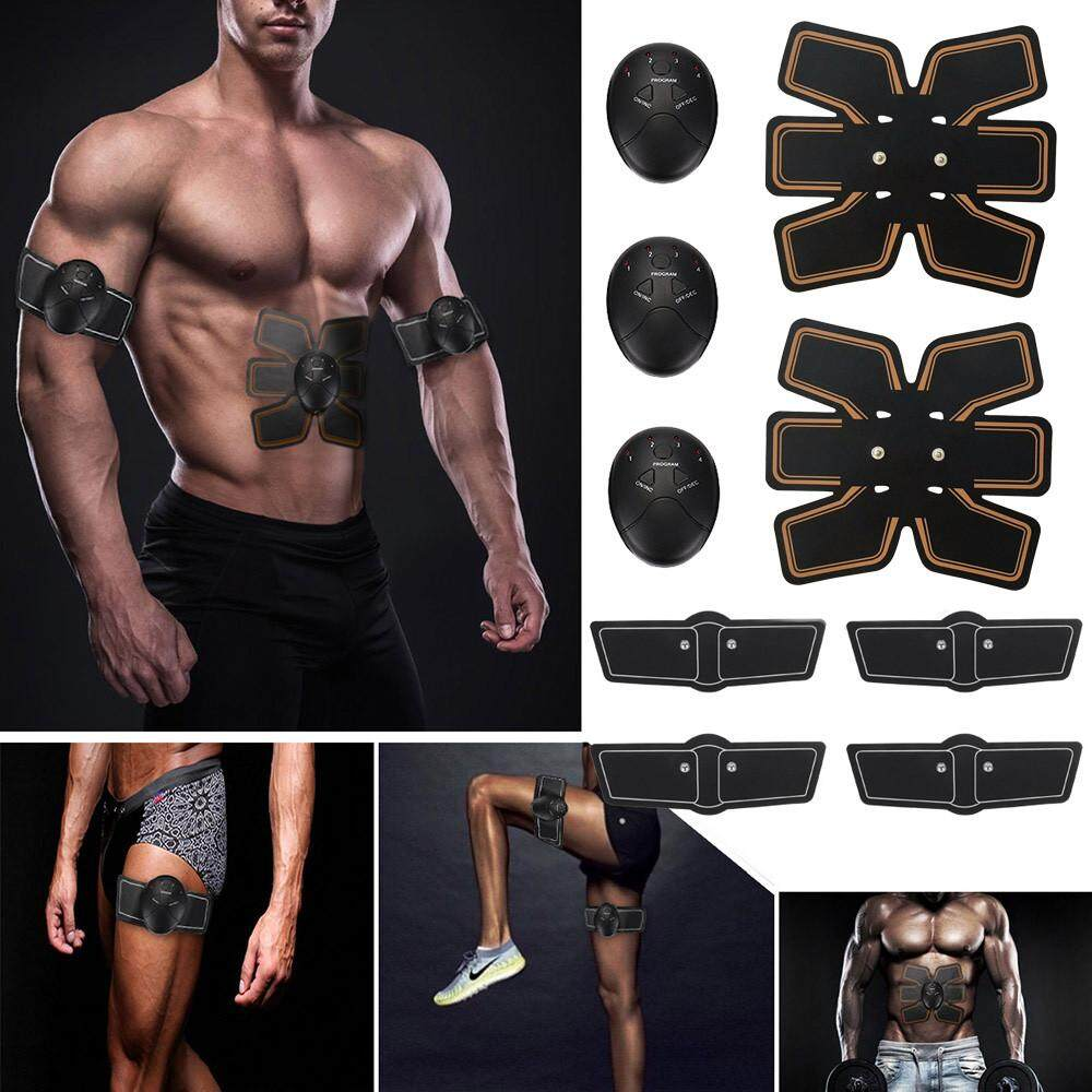 Magic Ems Muscle Training Gear Abs Trainer Fit Body Home Exercise Shape Fitness By Carmanshop.