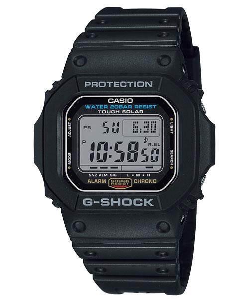 Casio G-Shock Tough Solar G-5600E-1 Mens Watch (Black) Malaysia