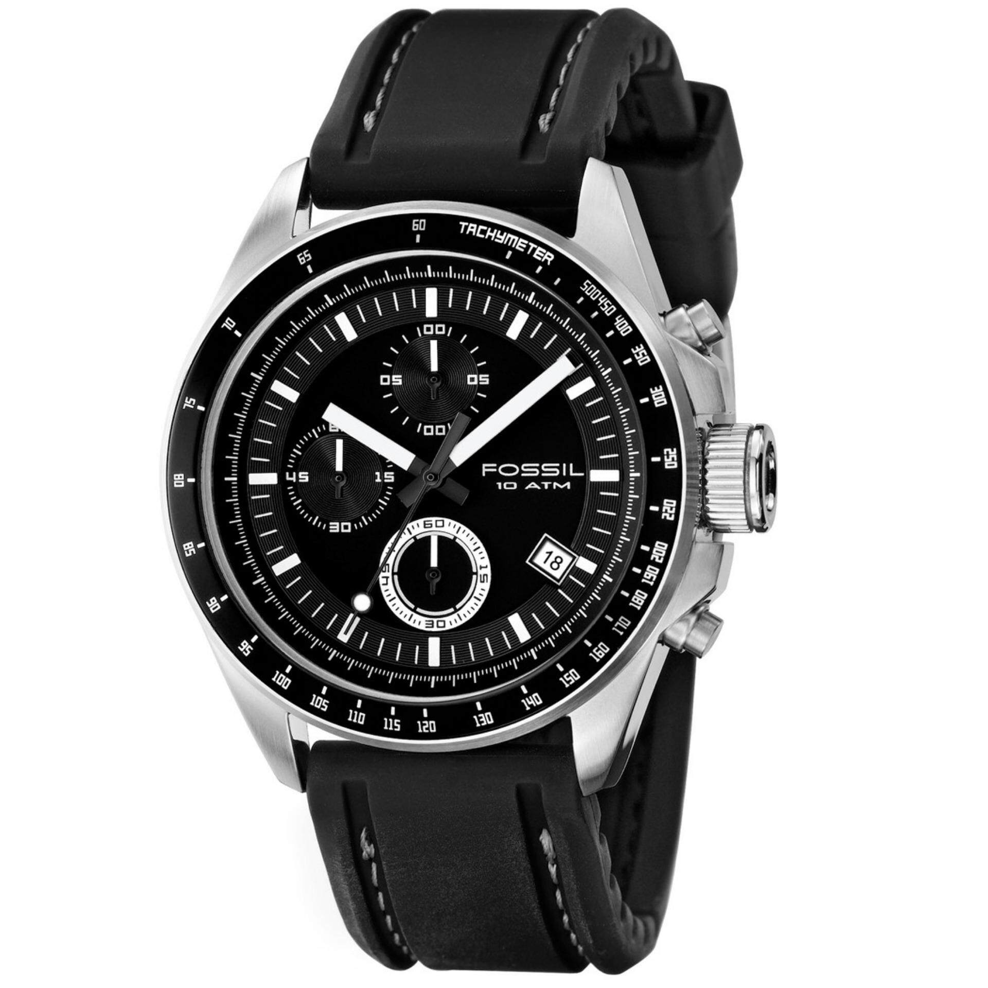 Fossil Men Watches Price In Malaysia Best Lazada Jam Tangan Fs4812 Grant Chronograph Black Dial Leather Mens Watch Decker Rubber Strap Ch2573ie