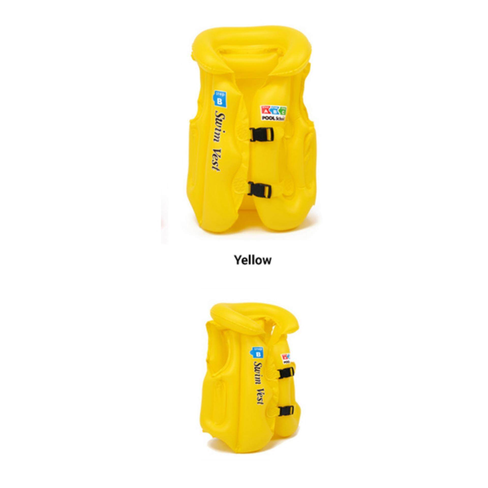 Realeos Inflatable Swimming Newborn Baby Kids Safety Life Jacket - R752 By Realeos.