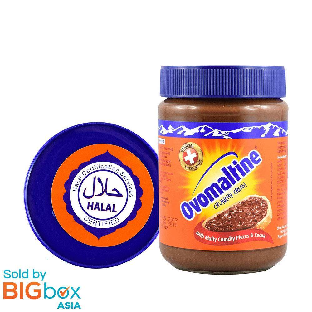 Ovomaltine - Crunchy Cream (380g) - Belgium [exp 03-Oct-2019] By Bigbox Asia.
