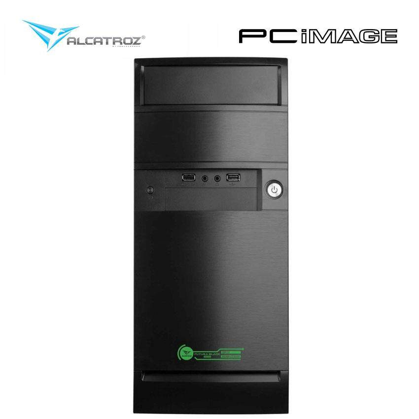 ALCATROZ FUTURA BLACK 2000 GREEN PC CASING Malaysia