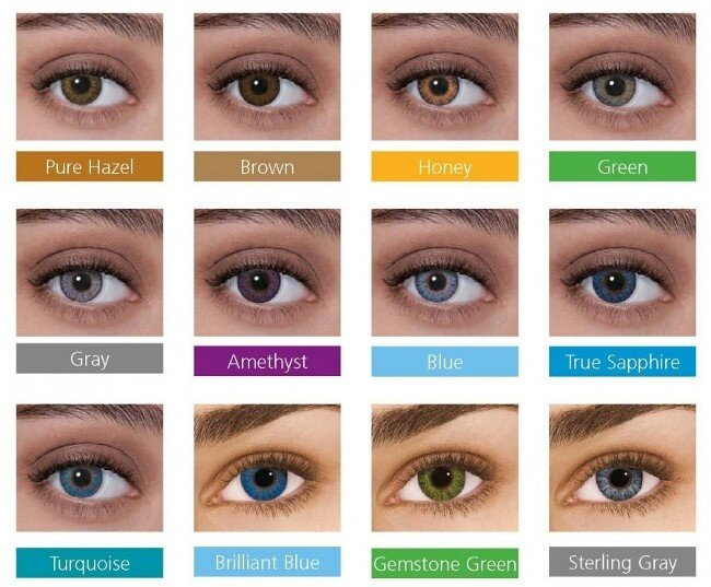 887640433e4 Freshlook ColorBlends Monthly Grey Contact Lens (-2.25)
