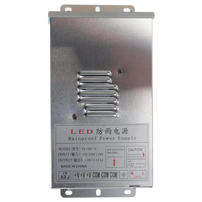 In/Outdoor Switching Power Supply Silver, FY-150-12 12V 12.5A 150W