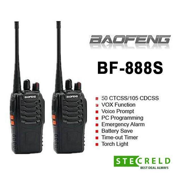 ORIGINAL Baofeng BF-888S BF888 / BF 888S / BF888S Walkie Talkie Set 16  Channel Radio UHF 5W