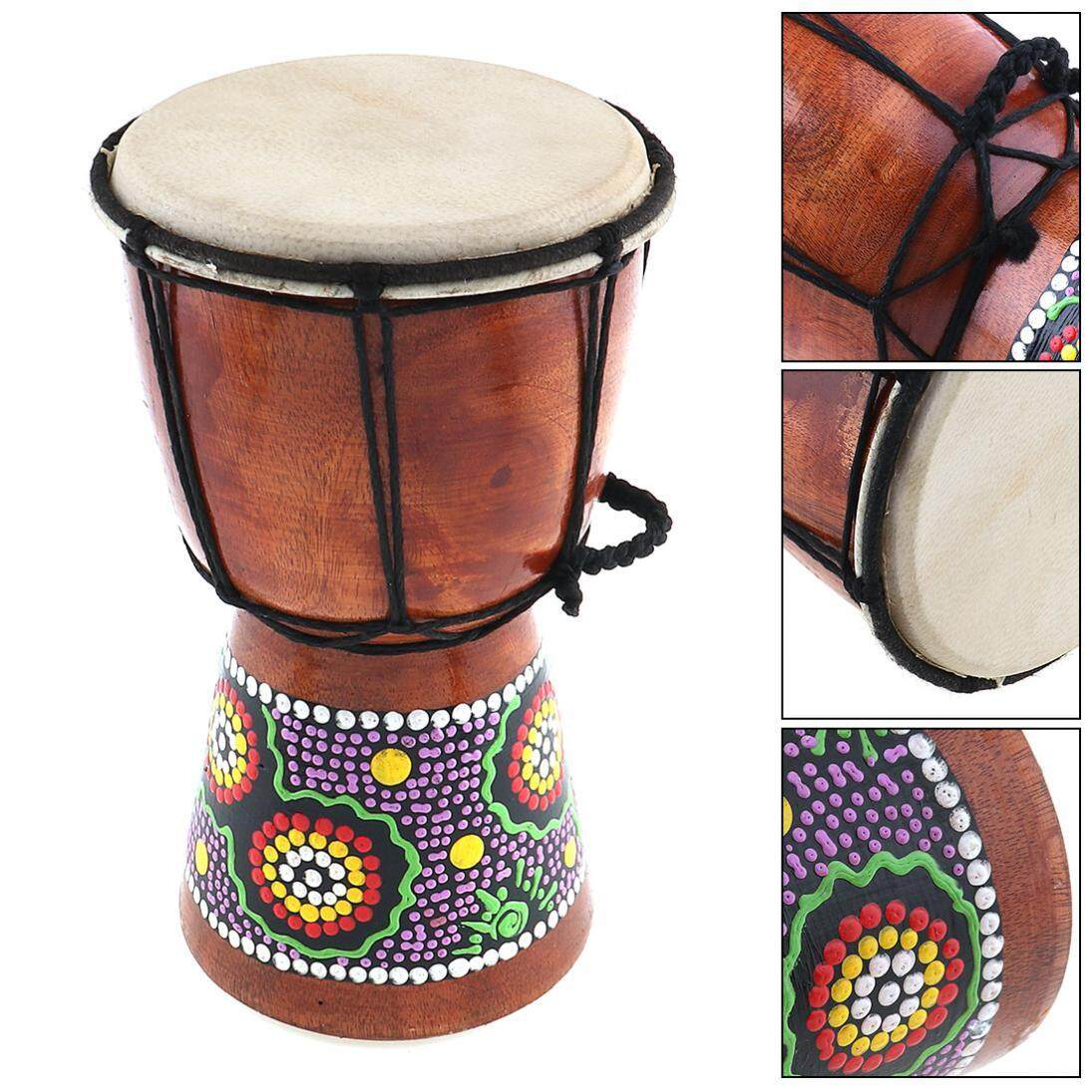 Drums Percussion Drum Sets Buy Piece Set Diagram Premier 9 Peice Kit 4 Inch Professional African Djembe Wood Goat Skin Good Sound Musical Instrument