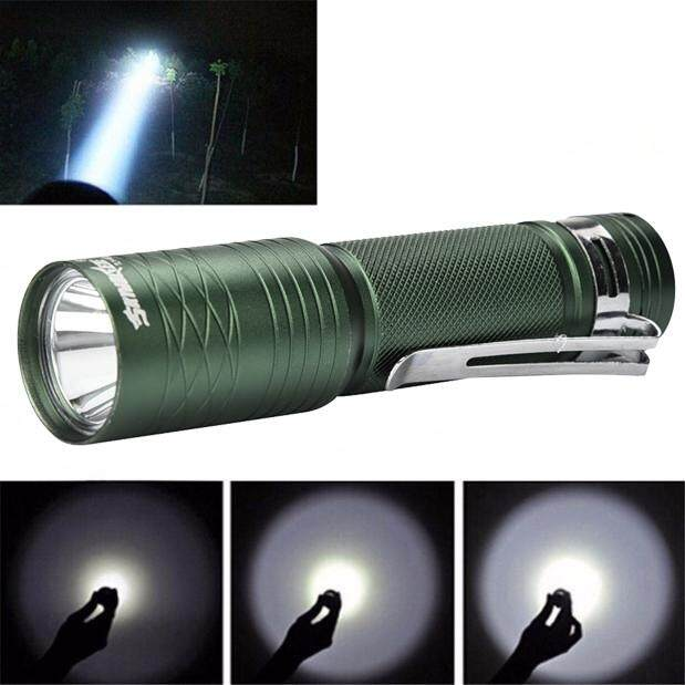 T6 3000 Lumens 3 Modes Tactical Bright Flashlight Torch Powerful Lamp 14500
