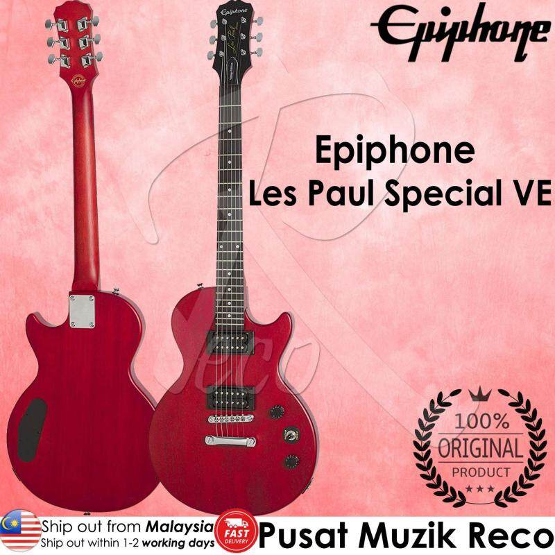 Epiphone Les Paul Special VE Electric Guitar - Vintage Worn Cherry (VWC) Malaysia