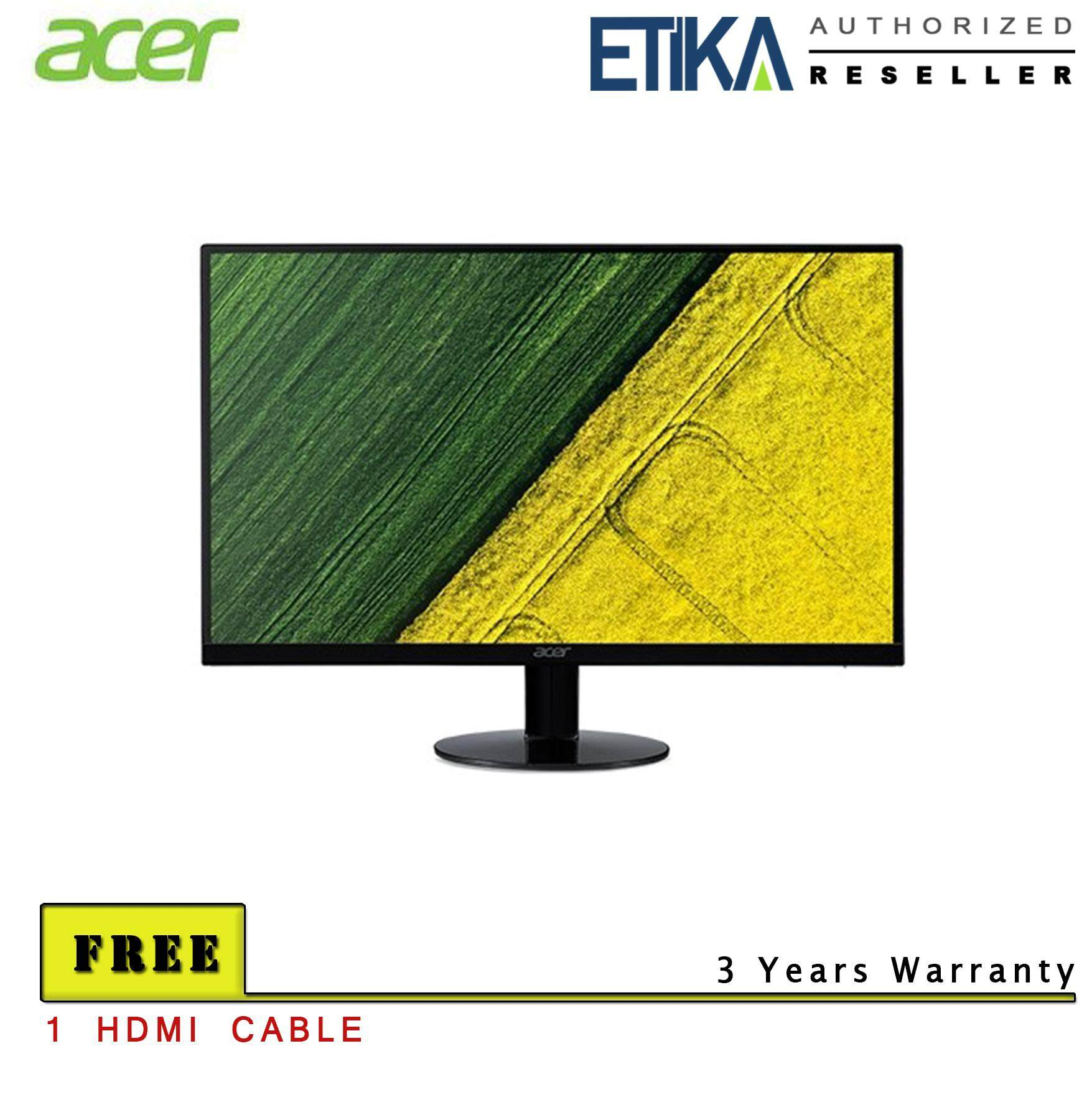 Etika Komputer Buy At Best Price In Malaysia Www 1 Set Acer Sa240y 24 Led Monitor Free Hdmi Cable