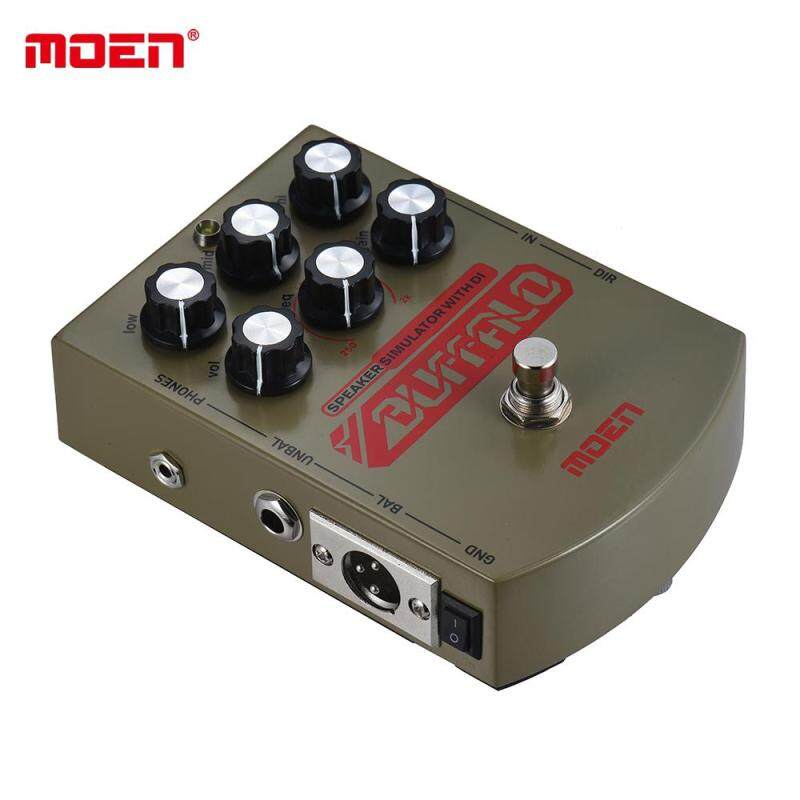 MOEN MO-BA BUFFALO Electric Guitar Speaker Simulator Effect Pedal Equalizer With DI Headphone Output True Bypass Malaysia
