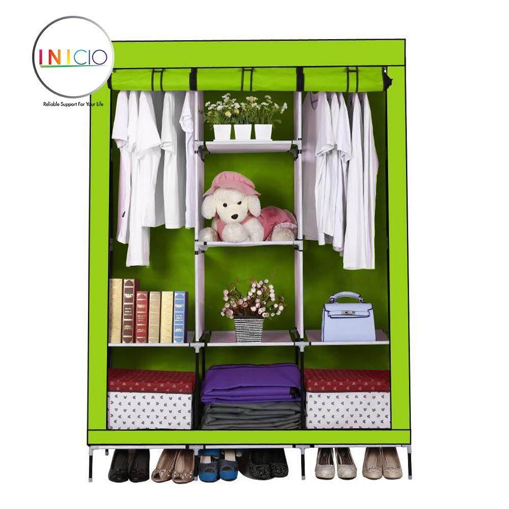Furniture Products With Best Online Price In Malaysia Triangle Stand Hanger Rak Buku Pakaian Serbaguna Dengan 4 Roda Inicio Multifunctional Dust Cover Roll Up Wardrobe Design