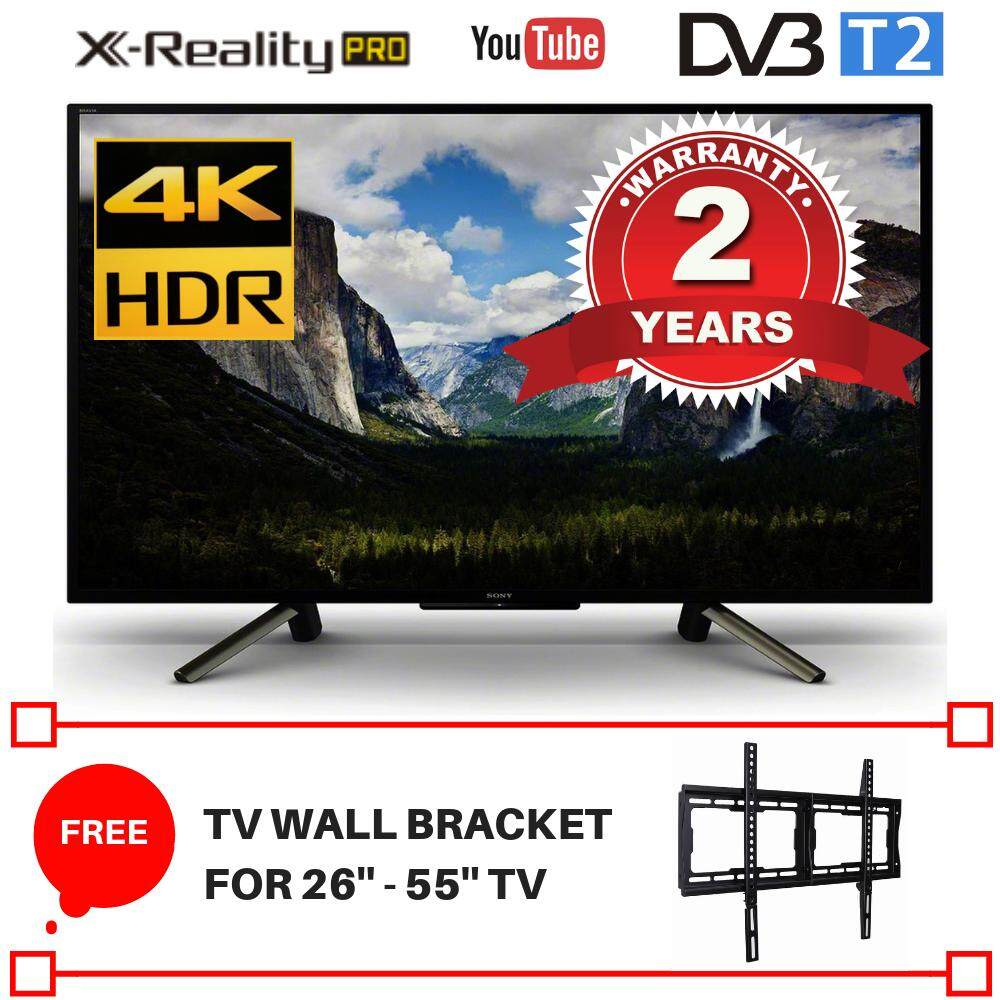 Sony Tv Audio Video Gaming Gadgets Televisions Price In Kdl 48w650d Smart 48 Inch 43 4k Hdr Uhd Kd43x7000f 2018 Model 2 Years Malaysia