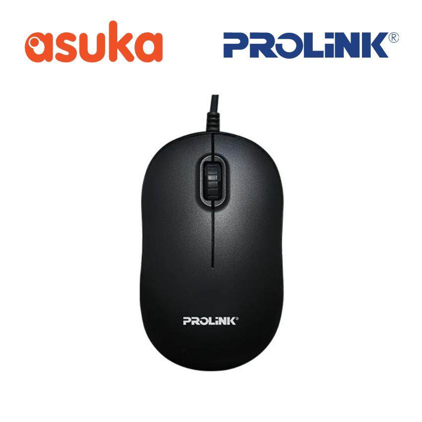Prolink PMC1006 1000dpi 3-Button Optical USB Mouse Malaysia