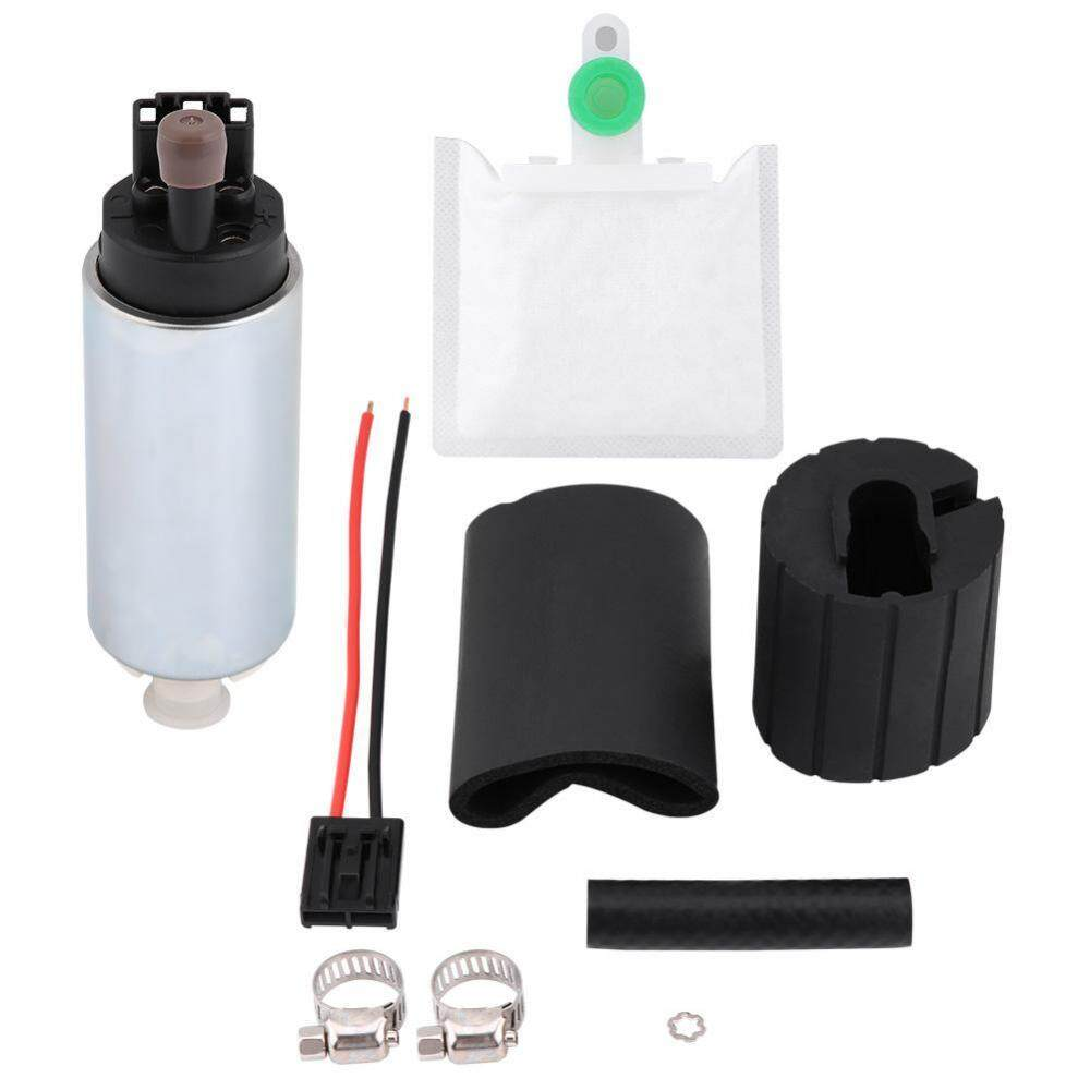 duoqiao [Clearance Sale] 255LPH Universal High Pressure Electric In-tank  Fuel Pump with Installation Kit GSS342