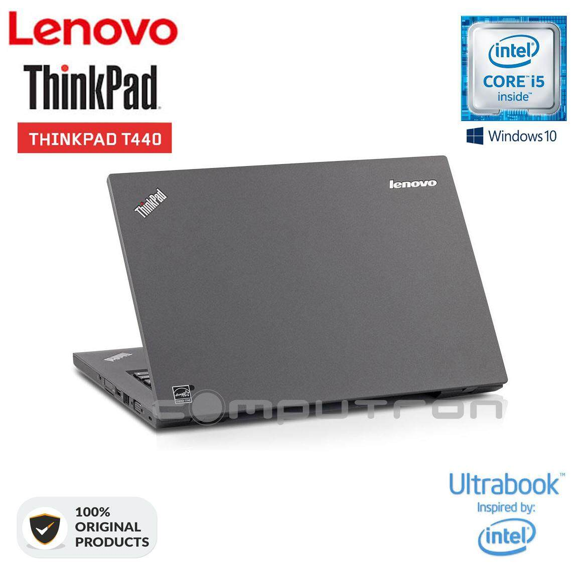 LENOVO THINKPAD T440 ULTRABOOK CORE I5 | 8GB | 1TB HDD | 1 YEAR WARRANTY [ORIGINAL REMANUFACTURED] Malaysia