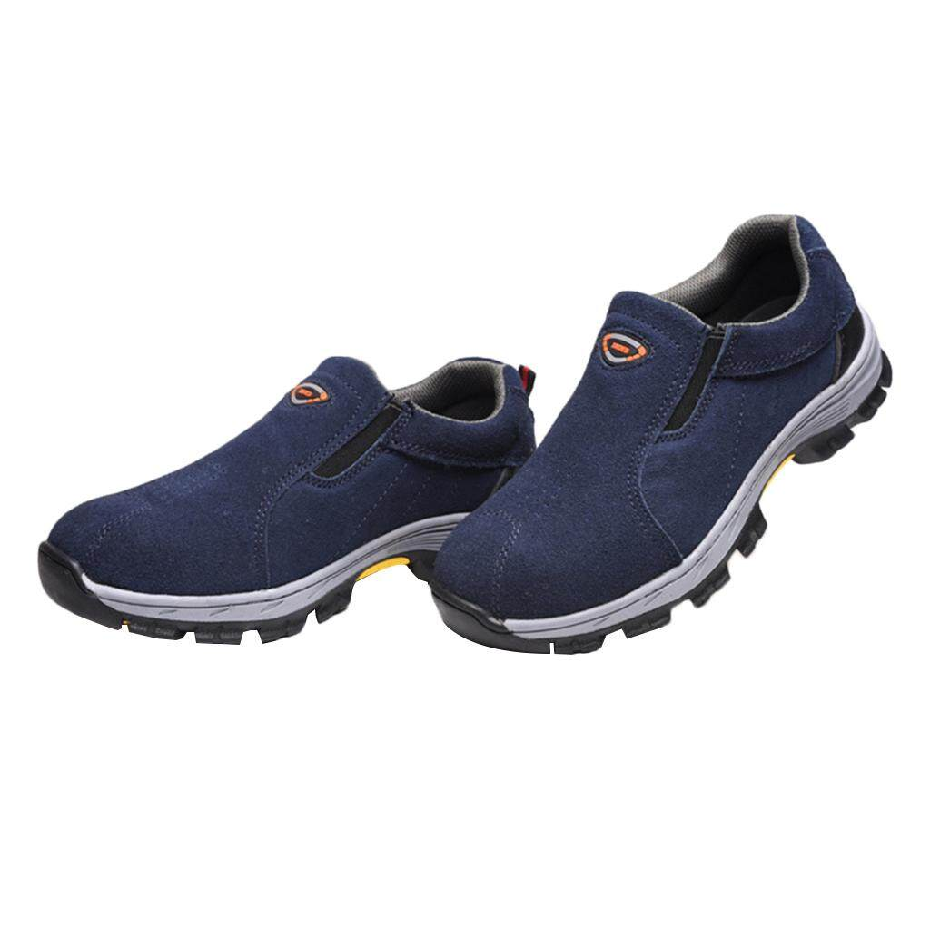 Miracle Shining Steel Toe Safety Protective Work Boots Water Resistant EU 45 US 11 UK 10.5