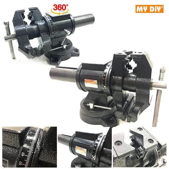 "MY DIY - Fixtop 5""-125mm Multi-Purpose Rotating Head Swivel Bench Vise Clamping Tools"