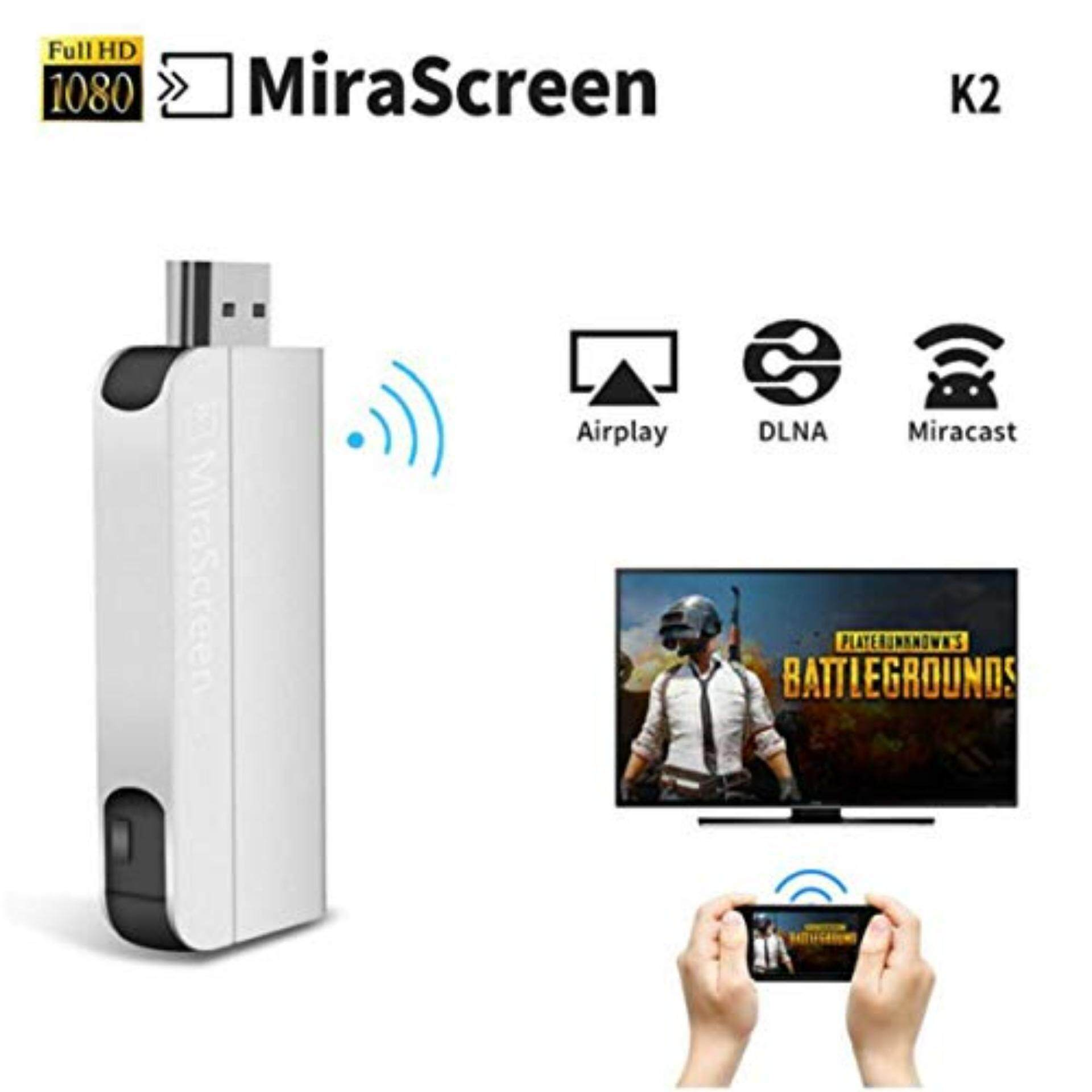 Hdmi Buy At Best Price In Malaysia Cable Tester Biasa Mirascreen K2 1080p Wifi Wireless Display Dongle For Smart Device