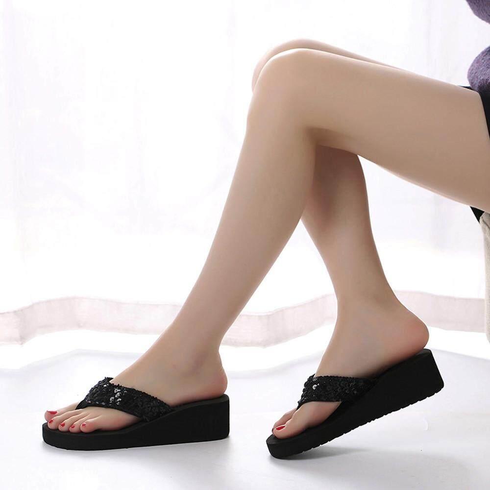 a303993df7516b Inesshop Women s Summer Sequins Anti-Slip Sandals Slipper Indoor   Outdoor  Flip-flops