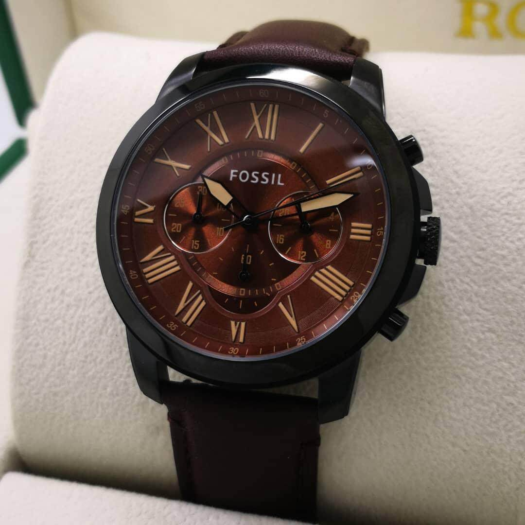 Sell Fossil Me3029 Grant Cheapest Best Quality My Store Me3140 Sport Automatic Skeleton Dial Lugage Leather Fs4735 Chronograph Brown Watchmyr318 Myr 319