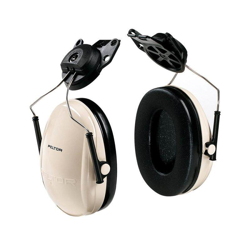 3M Peltor H6P3E/V Optime 95 Helmet Attachable Earmuff, Hearing Protection, Ear Protectors, NRR 21dB, Ideal for machine shops and power tools