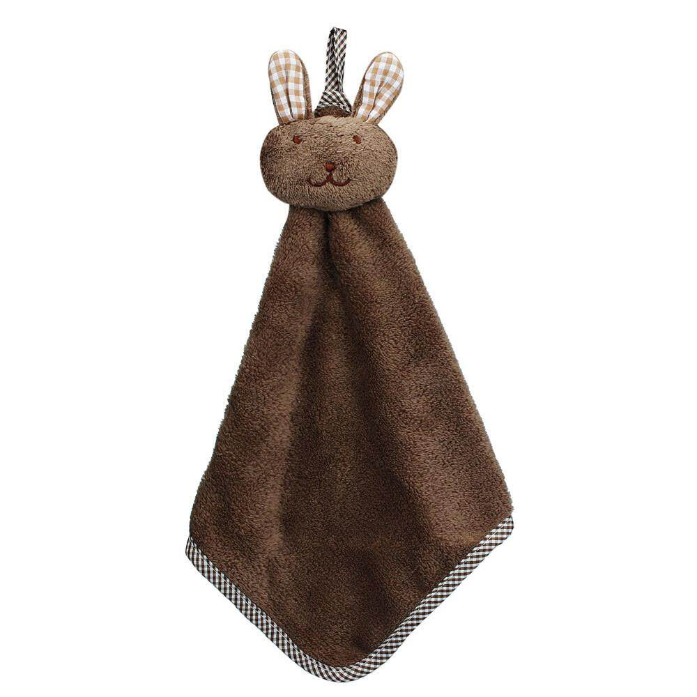 Bigskyie Kitchen Cartoon Animal Hanging Cloth Soft Plush Dishcloths Hand  Towel CO 047bc6f4d