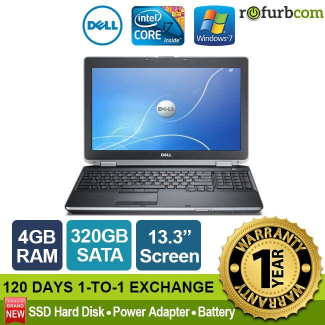 DELL LATITUDE E6330 / INTEL CORE I7 (4GB, 320 SATA) [refurbished] Malaysia