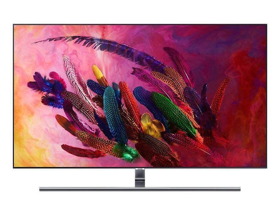 Samsung 55 Q7f 4k Smart Qled Tv Qa55q7fnakxxm By Samsung Brand Shop - (wm) - Wing Ming Electrical.