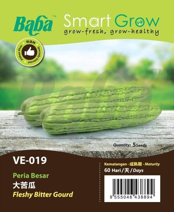 Baba VE-019 Smart Grow Fleshy Bitter Gourd Seed - Vegetable Seed [5 Seeds]