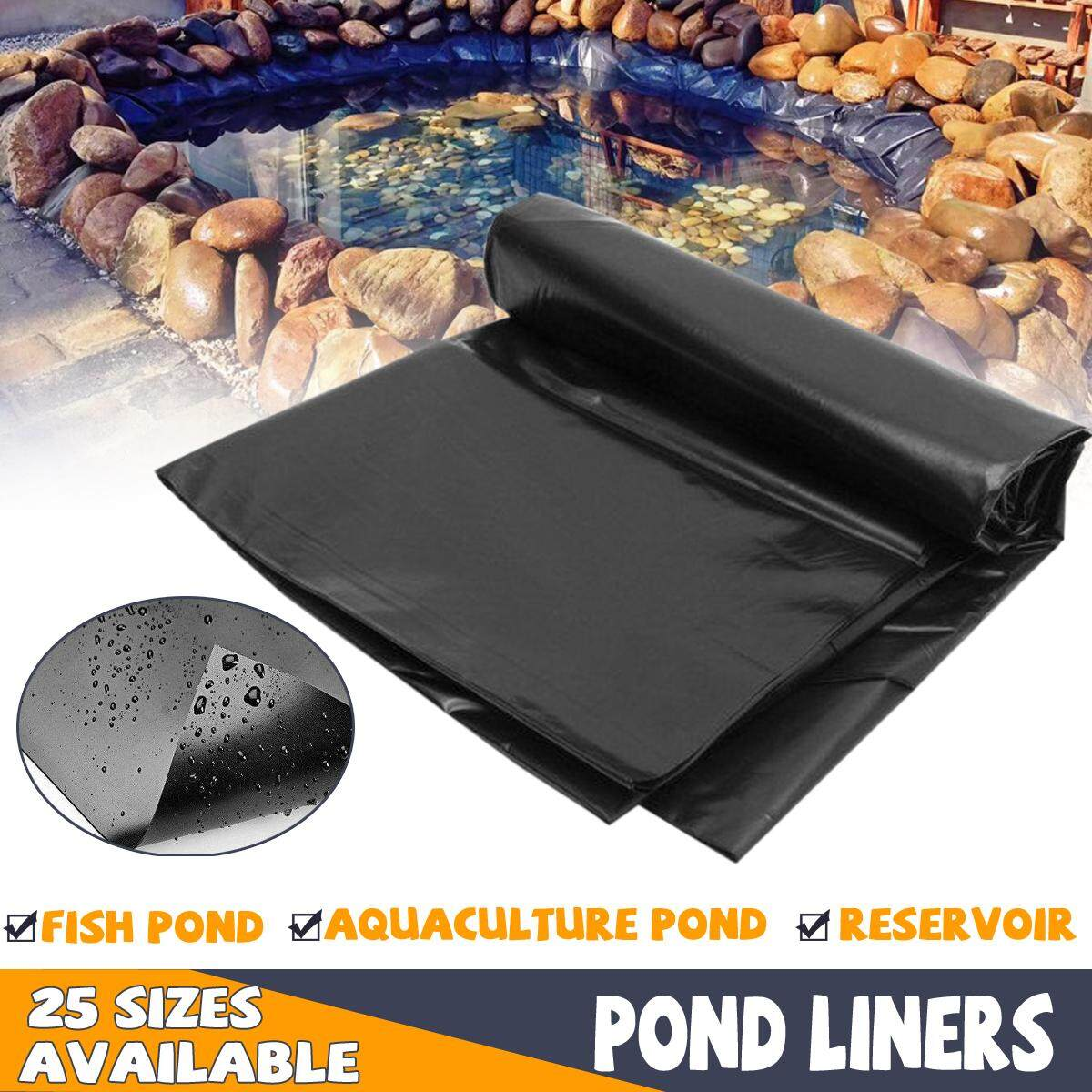 Fish Pond Liner Gardens Pools PVC Membrane Reinforced Landscaping 6.0m X 6.0m