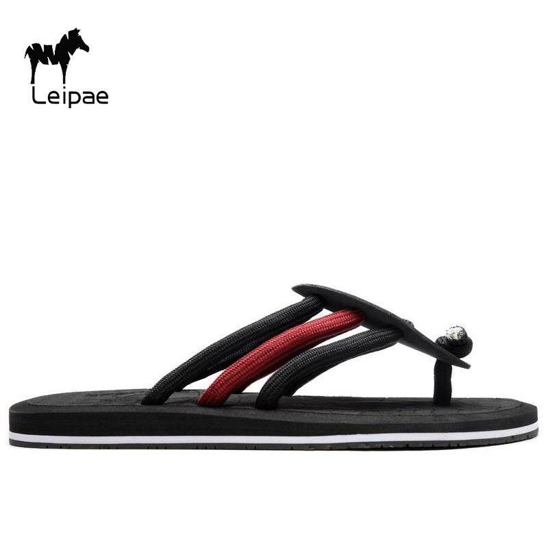 e55f7b158e2922 Leipae Summer Fashion Men Flip-Flop Home Slippers Beach Sandal for Men  selipar untuk lelaki
