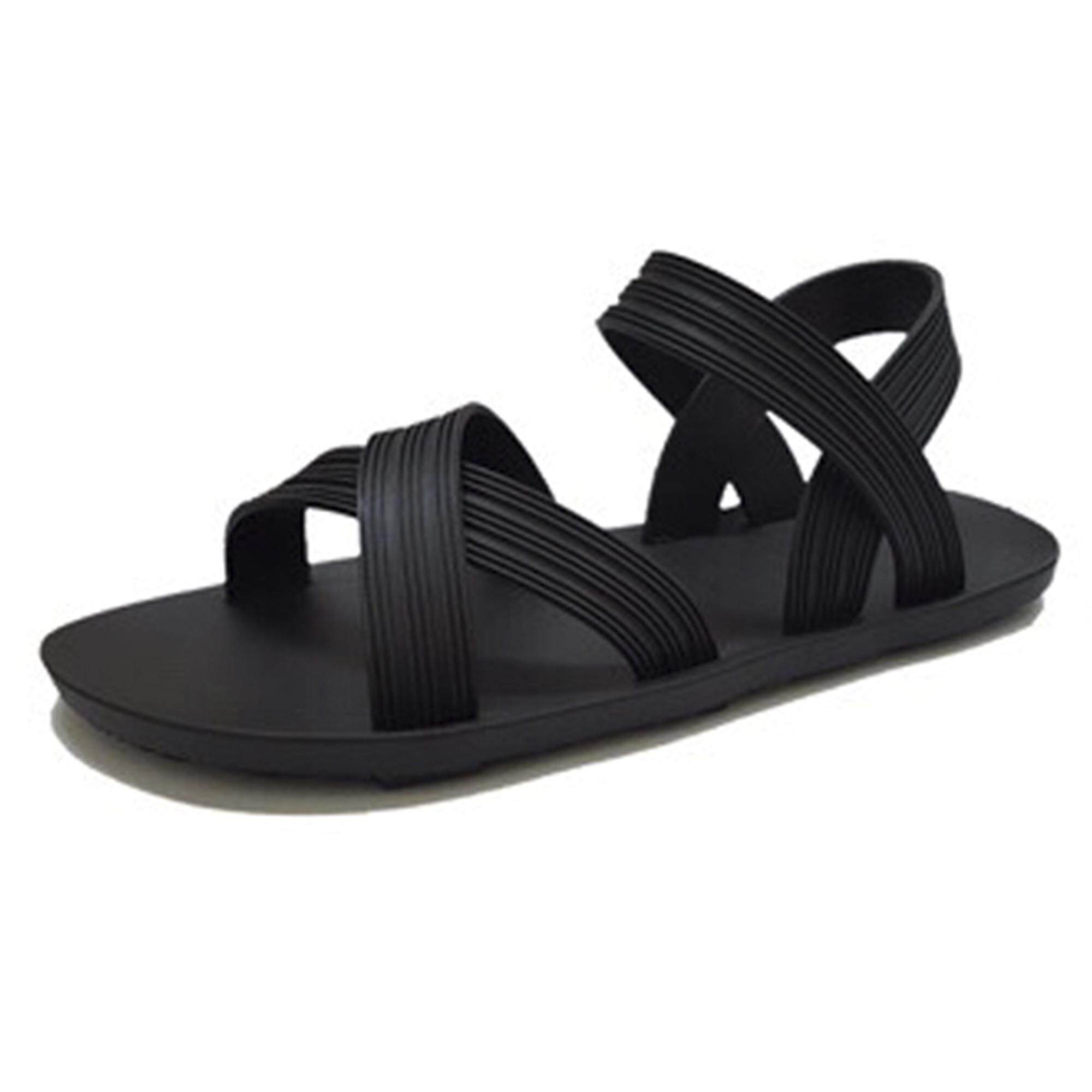 Ladies Shoes For The Best Price In Malaysia Tendencies Footbed Sandals Black Hitam 43