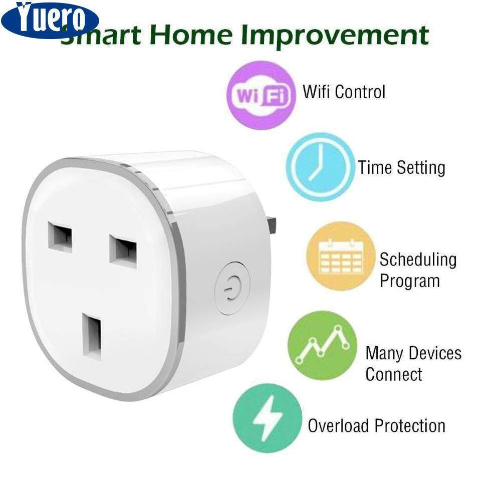 Home Ratchets Sockets Buy At Best Price Wall Outlet Ports Plugged Wiring Devices Office Ac Usb Device Yuero Uk Plugsmart Plug Mini Smart Socket Compatible With Alexa Echo Dot