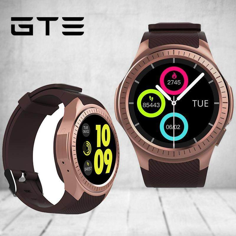 GTE L1K Wristband Heart Rate Blood Pressure Monitor Smart Watch With GPS Trajectory Tracker Support SIM Card For Phone - Fulfilled By GTE SHOP Malaysia