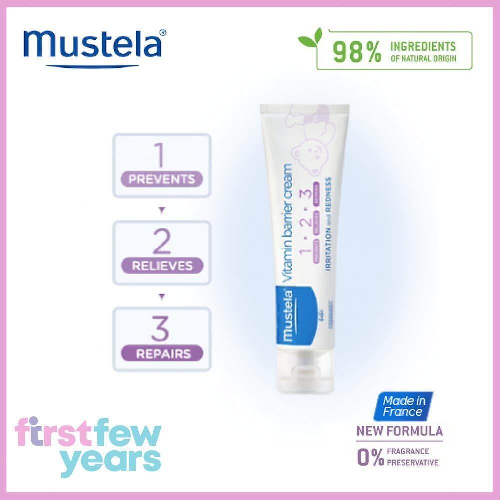 Mustela Buy At Best Price In Malaysia Stelatopia Emollient Cream Vitamin Barrier 100ml