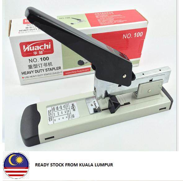 Ready Stock @ Kl Heavy Duty Stapler No. 100 + Staples (staple23/13 1000pcs) By Angels Online Store.