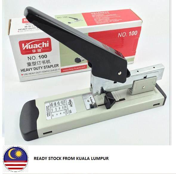Ready Stock @ Kl Heavy Duty Stapler No. 100 + Staples (staple23/13 1000pcs) By Angels Online Store.